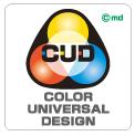 カラーユニバーサルデザインマーク (CUDマーク)